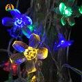 10 M 100 LEDs Cereja Decoração Do Partido Do Casamento Do Feriado Luz Multicolor LEVOU Luzes da corda Para Casa e Jardim Quente 110 V 220 V EUA UE plugue