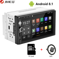 JMCQ 7 1080P Car Radio DVD GPS MP5 Player Digital Touch Screen Multimedia Player 2 Din Car Autoradio RDS FM/AM Navigation