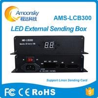 Amoonsky AMS LCB300 Led Control Box Linsn Led Sender Box Support Ts802d Video Sending Card