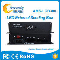Amoonsky AMS LCB300 Led Control Box Linsn Led Sender Box Support Ts802d Video Sending Card