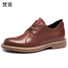 Youth casual Genuine Leather shoes mens spring soft bottom business British all-match cowhide all-match cowhide spring autumn select match soft