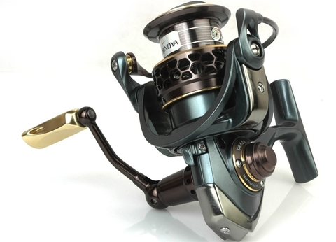 Trulinoya Spinning Reel Fishing Gear 2 spool moulinet peche Saltwater Fishing Reel Jaguar 2000 Free Shipping new tsurinoya spinning fishing reel 10 ball bearings 5 2 1 ratio lightweight reel moulinet free shipping reel 175g weight fs800