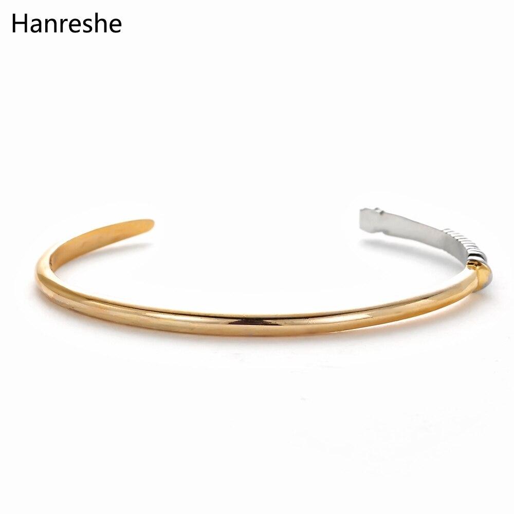 HANRESHE Star Wars lightsaber Bangle Metal Bangle Bracelet Gift for Star Wars Fans