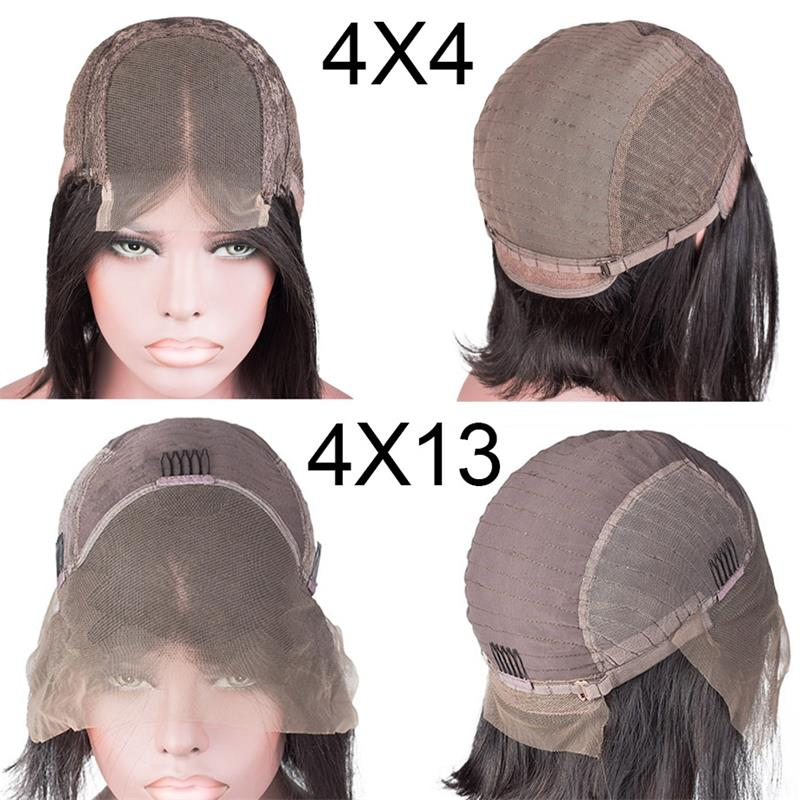 Short-Lace-Front-Human-Hair-Wigs-Bob-Wig-Full-and-Thick-For-Black-Women-Natural-Color