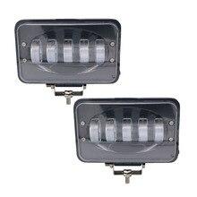 Yait Car Led Light Bar 50W 6 Inch LED Work Light Flood Driving Lamp for Car Truck Trailer SUV Offroads Boat 12V 24V 4X4 4WD