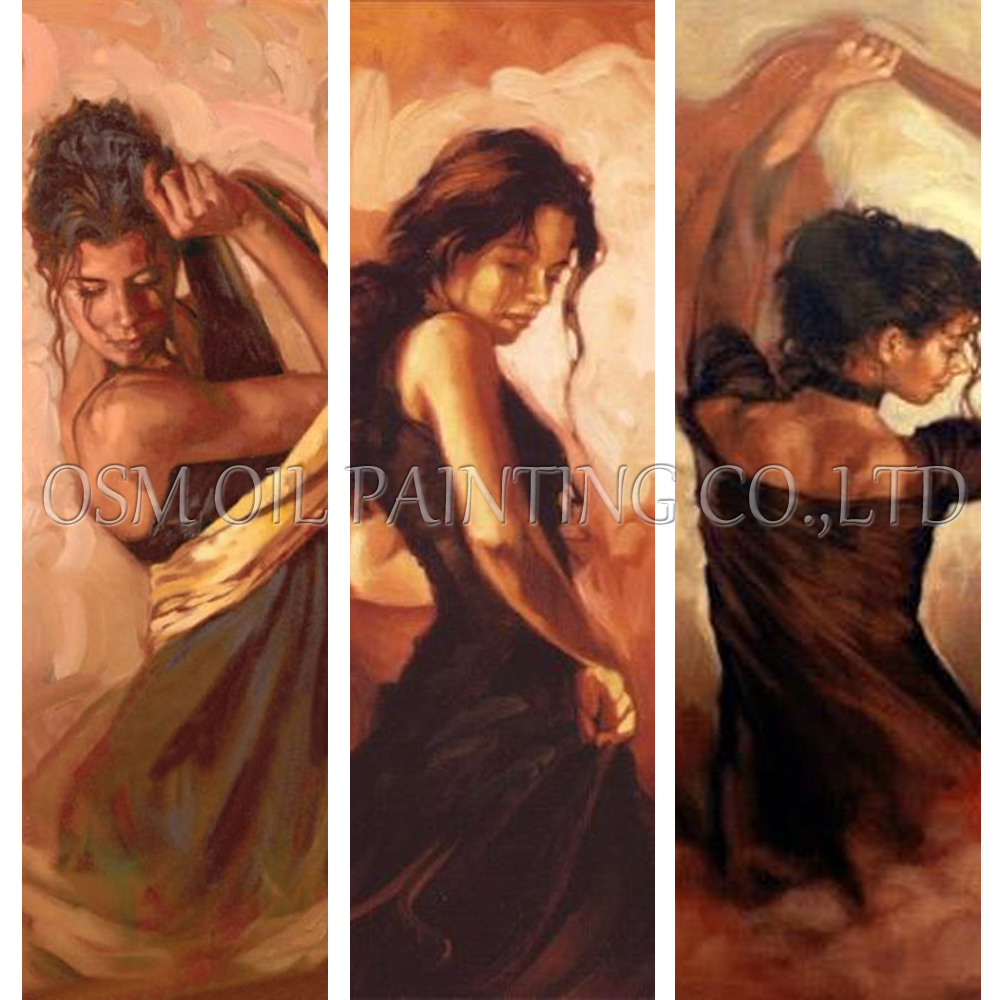 Expert Artist Pure Hand-painted Beautiful Spanish Dancer Oil Painting on Canvas Modern Spain Dance Canvas Fine Art Oil PaintingExpert Artist Pure Hand-painted Beautiful Spanish Dancer Oil Painting on Canvas Modern Spain Dance Canvas Fine Art Oil Painting