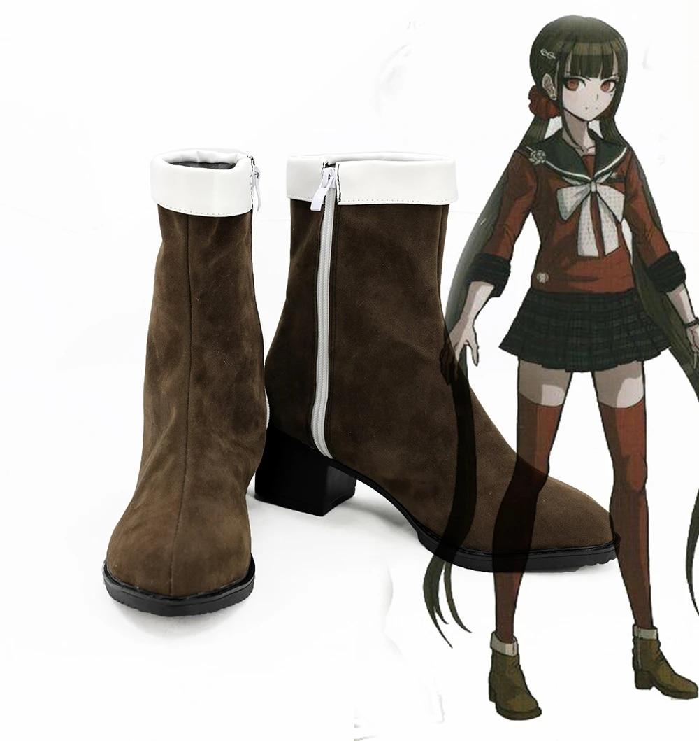 Danganronpa V3 Harukawa Maki Killing Harmony cosplay shoes costom made DD.2105
