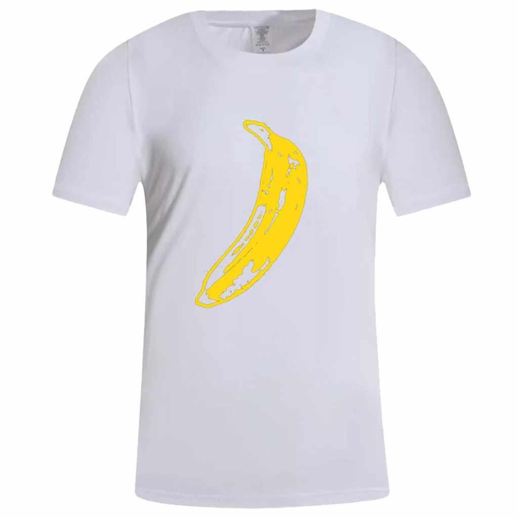T-shirts de banana humor disrobe de alta qualidade manga curta design camiseta 100% algodão masculino moda topos t