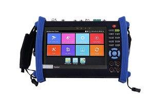 Image 1 - 7 Inch H.265 4K IP HD CCTV Tester Monitor AHD CVI TVI SDI Tester 8MP 5MP ONVIF HDMI In TDR Multimeter Optical fiber POE 12V Out