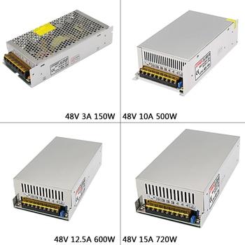 DC48V 3A/5A/7.5/10A/12.5A/15A led Switching Power Supply AC110V 220V to DC 48V Swich Driver Transformer For LED Strip Light CNC