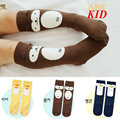 Kawaii Cartoon 3D Ears Monkey Duck Penguin Stockings For Kids Cotton Stocking Baby Boy Girl Medias Knee High Leg Warmers KD376