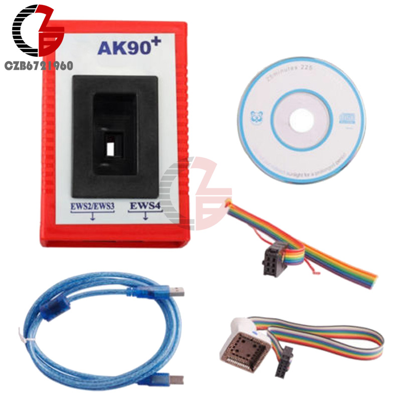 2016 Match Tool AK90 + Key Programmer V3.19 For BMW EWS CAS From 1995-2009 New carcode 2016 top rated professional r270 for bmw cas4 bdm programmer auto key programmer r270 cas4 free shipping