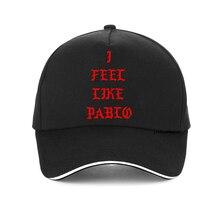 I feel like pablo cap Kanye West Pablo Unisex 100%cotton Anti Season 3 Print Baseball Caps Hip Hop Social Club Rapper hats