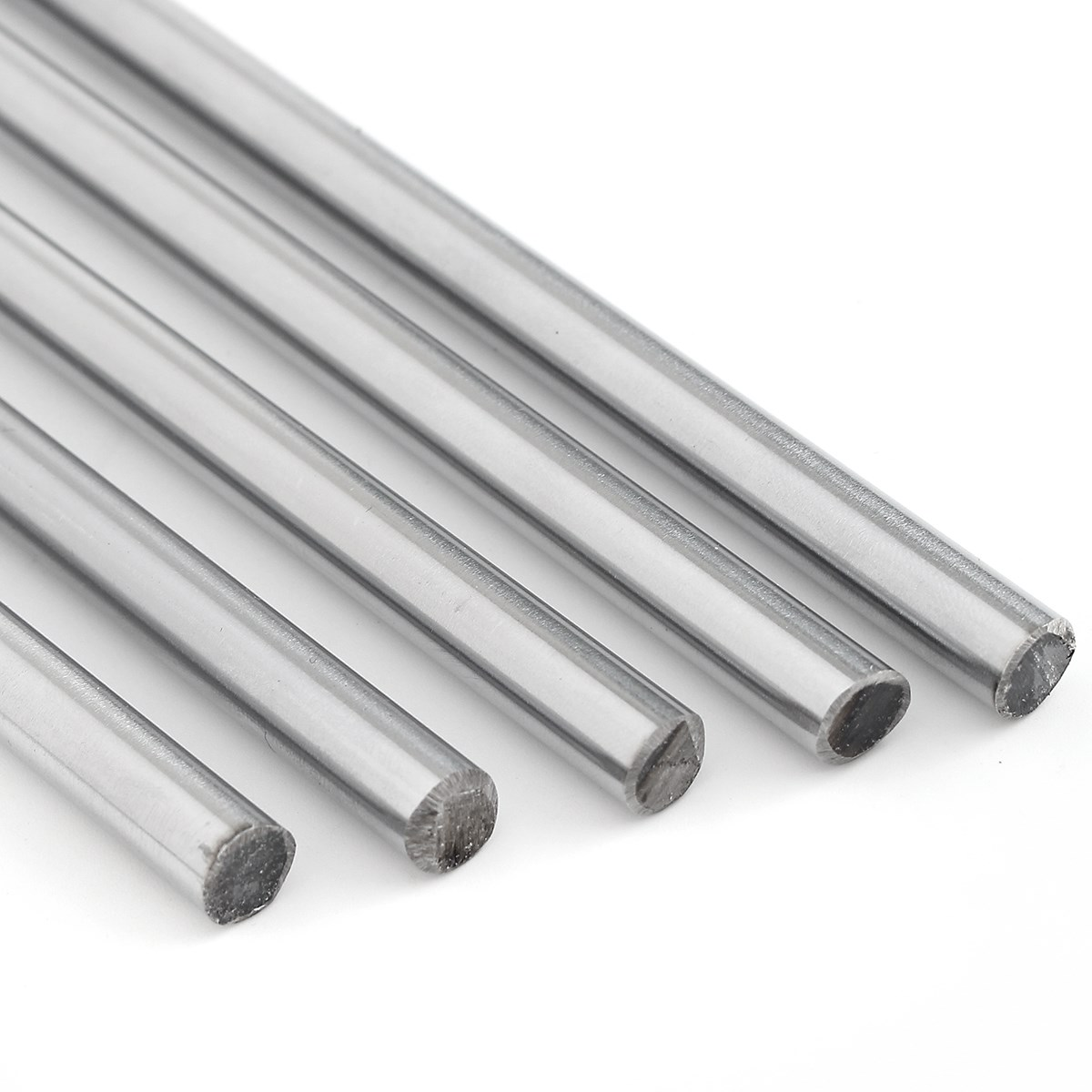 8mm Linear Rod 300/380/400/500mm/600m Chrome Harden Linear Shaft Guide Cnc 3d Printer Parts Liner Rail Linear Shaft Optical Axis 2pcs linear shaft 500mm long diameter 20mm l 500mm harden linear rod round shaft chrome plated