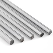 8mm Linear Rod 300/380/400/500mm/600m Chrome Harden Linear Shaft Guide Cnc 3d Printer Parts Liner Rail Linear Shaft Optical Axis