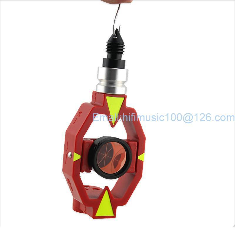 New total station prisms MINI little small prism / Contains four rods and connectors micro- prism pole цена