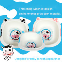 B137 New Style Baby Children Wash A Face To Wash Feet Washing Clothes Cartoon Cow Pattern