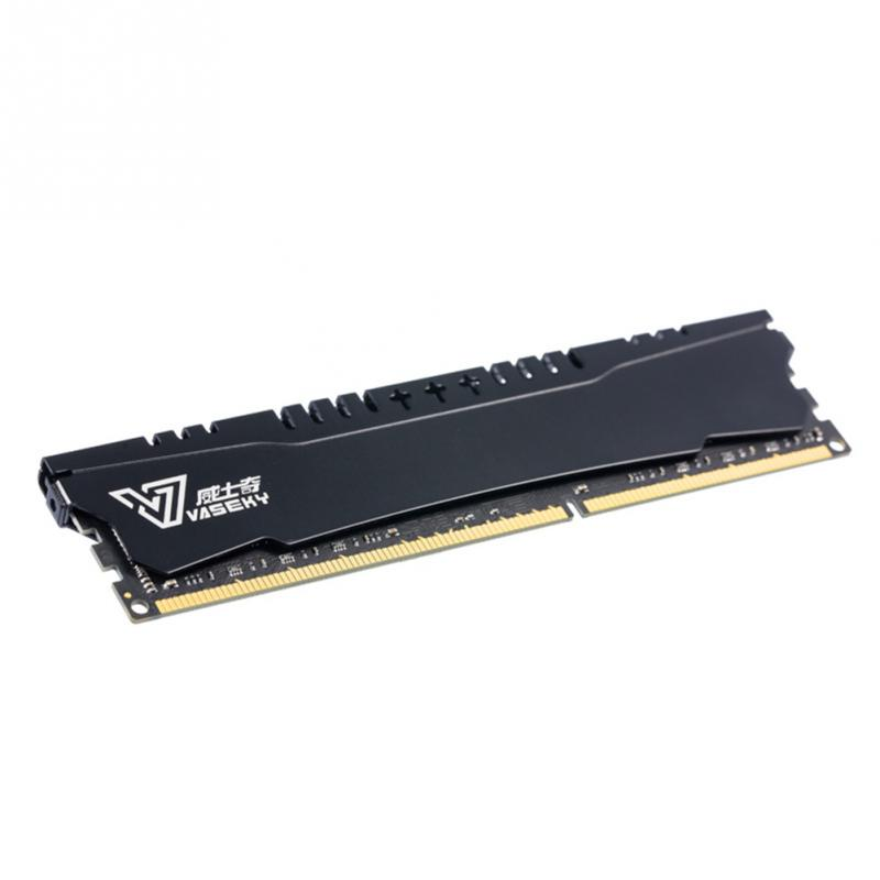 Vaseky 240 Pin 1600MHz 4G DDR3 RAM Memory 8 Layer PCB Through ATE  Oxidation Resistance Wear Resistance Anti-static Frequency