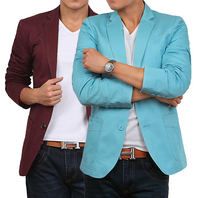 4 цветов slim-подходят мужчины пиджак конструкции корейский весной 2015 высокая мода бренды Большой размер XXXL XXXXL 5XL 6XL пиджак человек одежда