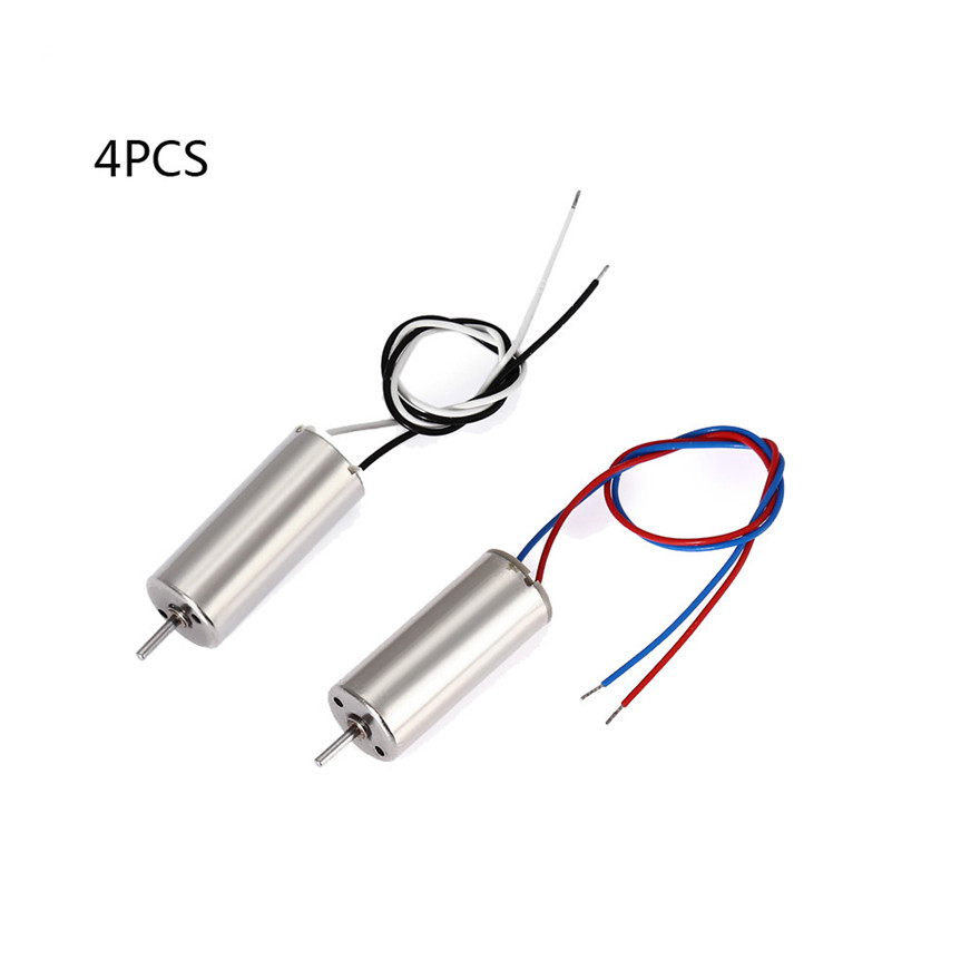 Drone Motor Accessories 4PCS 7.4V 8520 Brushed CCW CCW Motor For Hubsan H502S H502E RC Quadcopter MAY 28