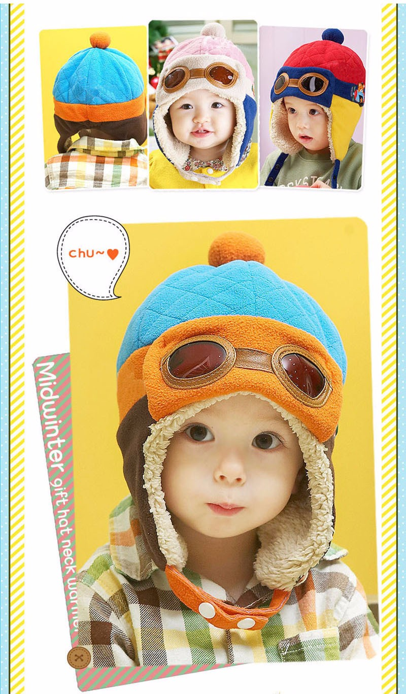 c244b42128f Mareya Trade - Infant Warm Plush Cloth Cap Hat Beanie Cool Baby Boy ...