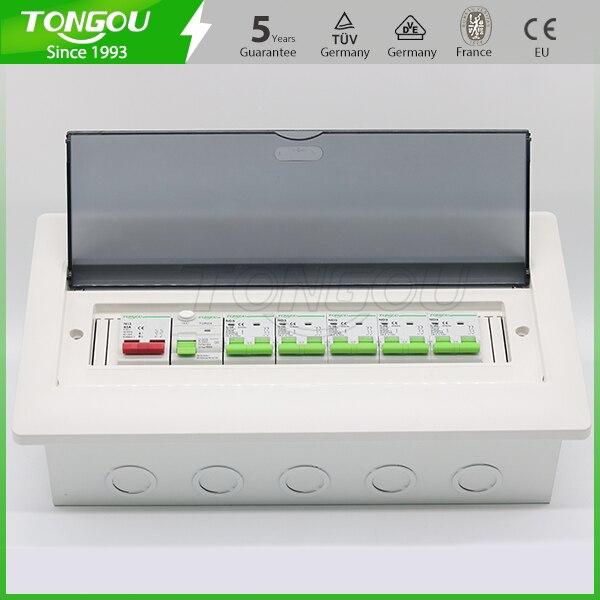 все цены на 5 years warranty flush mounting 14 ways distribution consumer unit 63A 2P RCD circuit breaker protection онлайн