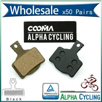 Bicycle Disc Brake Pads For Magura MT8, MT6, MT4, MT2 Disc Brake, Resin Black,50 Pairs, BP012