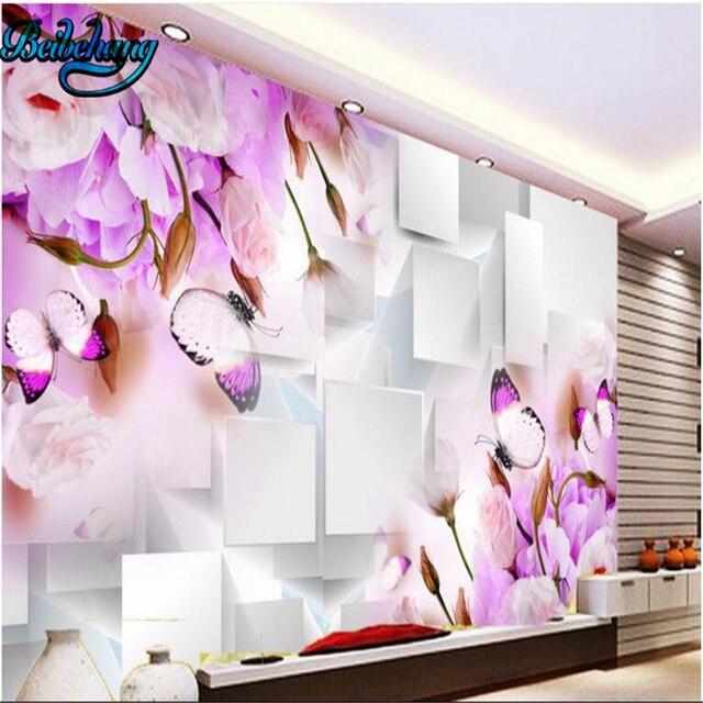 Us 945 37 Offbeibehang 3d Sen Kwiat Bloku Salon Tv ściany Dekoracyjne Tapety Klienta Tapety ścienne W Beibehang 3d Sen Kwiat Bloku Salon Tv ściany