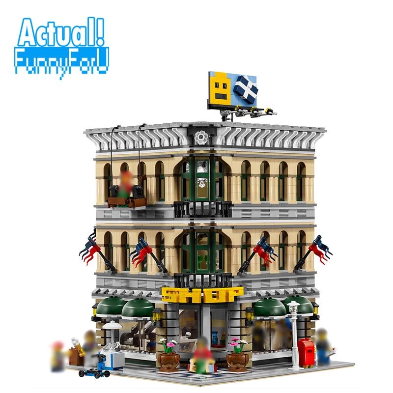 LELE 30004 Grand Emporium Creator Architecture Building Blocks Bricks Toys DIY For Kid Model Compatible with INGly 10211 цены