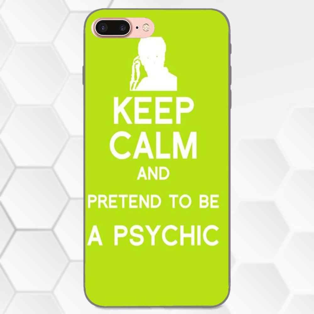 Psych Shawn E Gus TPU Art Print Caso Capa Para O Samsung Galaxy Note 4 8 9 G313 S3 S4 S5 s6 S7 S8 S9 S10 Mais Borda Lite I9080