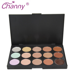Concealer Palette Makeup 15 Colors Cream Base Pale ...