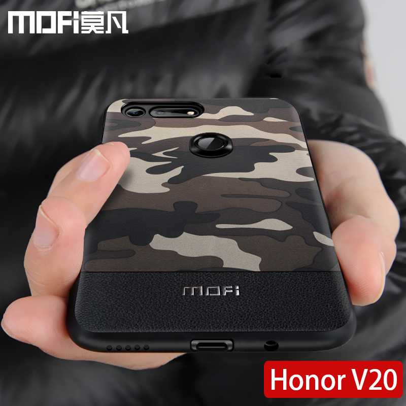 for Huawei honor v20 case cover MOFi original view20 back cover camouflage pattern shockproof coque capas honor view 20 case
