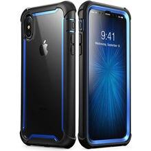 Dla iphone Xs Max Case 6.5 cala oryginalna seria i blason Ares wytrzymała, przezroczysta obudowa zderzaka z wbudowanym ochraniaczem ekranu