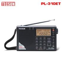 TECSUN PL-310ET мир, полный группа коротковолновое радио FM AM MW SW LW приемник DSP цифровая Демодуляция стерео радио VS Degen DE13