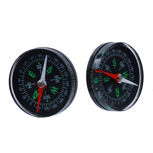 Waterproof Compass 40mm Oil Filling Compass For Outdoor Use Mini Vehicle Instrument Compass Navigation Ball