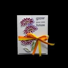 1 Pc flower Metal Cutting Dies Scrapbooking for Card Making DIY Embossing New Craft Die Beautiful Flowers Bunch new arrival