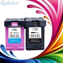 2 упак. 301XL картридж Замена для HP 301 для HP 301 XL CH563EE CH564EE для Deskjet 1000 1050 2000 2050 2510 3000 3054