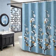 1.8 meters wide and 2 high European modern bathroom  thick pattern household items shower curtain waterproof