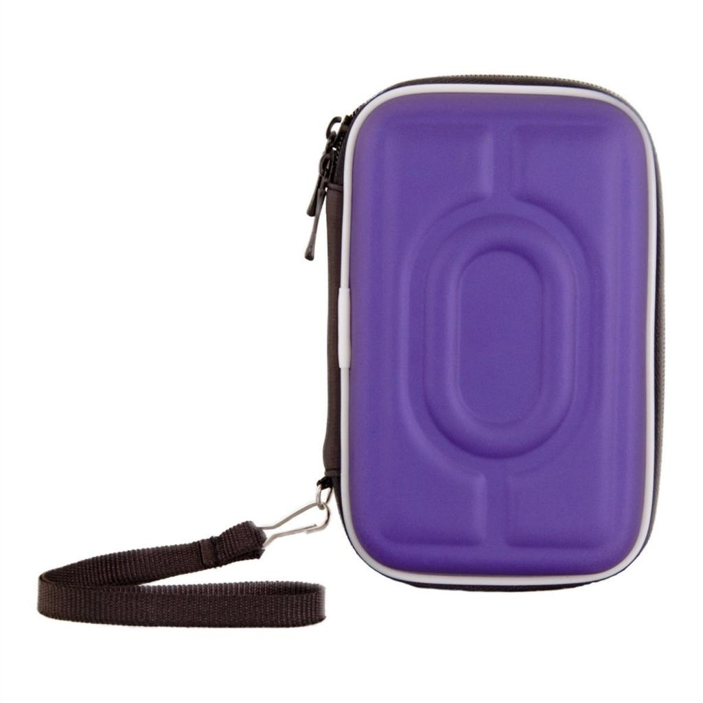 """YOC Sıcak Taşıma Kılıf Kapak Kılıfı Çanta 2.5 """"USB Harici Sabit Disk Sürücüsü Koruyun Mor"""
