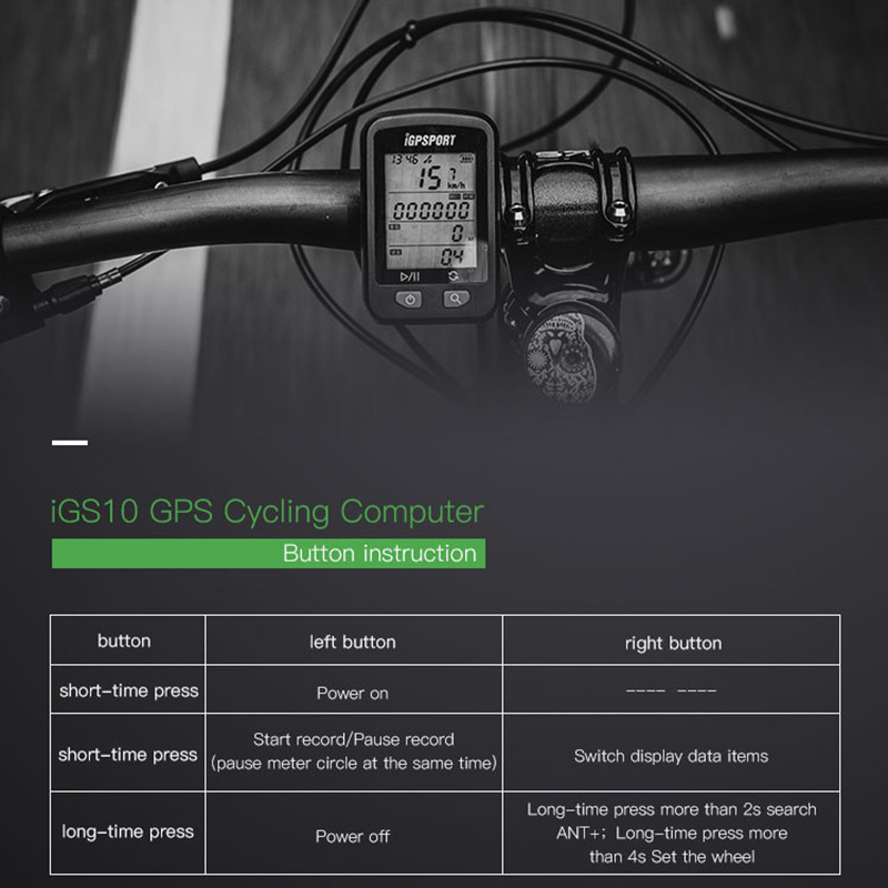 In Stock Igpsport Igs10 Gps Mtb Road Cycling Computer Waterproof