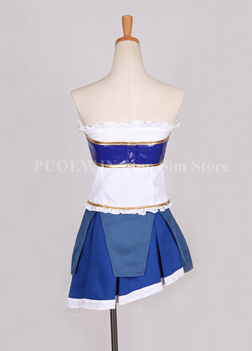 Image 4 - Anime Puella Magi Madoka Magica Cosplay Miki Sayaka Cosplay Costume Halloween Custom Made-in Anime Costumes from Novelty & Special Use