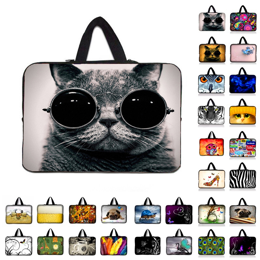New Laptop Sleeve Case for Macbook Air Pro Retina 10.1 11.6 13.3 15.4 15.6 17.3 inch Tablet Sleeve cover for Asus Acer HP