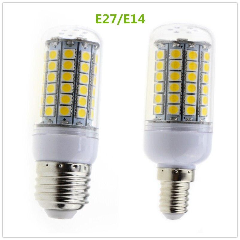5W E27 E14 Led Bulbs Light Lamps AC220V-240V LED Corn 69leds Christmas Lampada Led Chandelier Candle Lighting 4 pack high quality toner cartridge for konica minolta bizhub c224 c284 c364 compatible tn321 bk c y m full