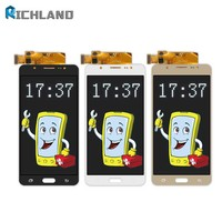 10pcs Lot LCD For Samsung Galaxy J7 2016 J710 SM J710F J710M J710H J710FN LCD Display