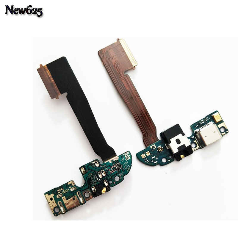 New Micro Headphone auto Jack Connector Board USB Dock Charging Port Flex Ribbon Cable For HTC One M8 831c Parts Replacement