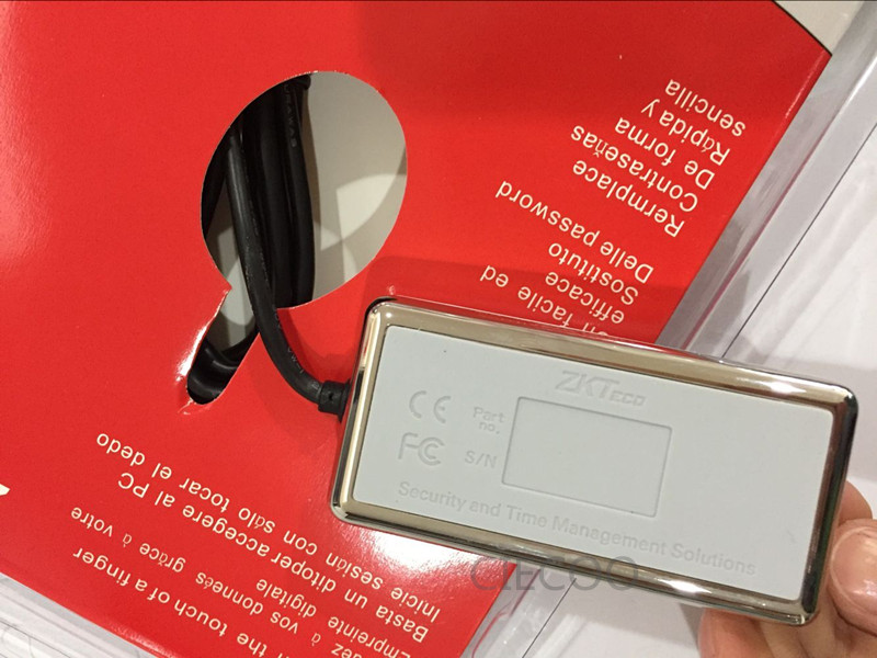 Digital Persona Fingerprint Reader USB Biometric Fingerprint Scanner ZK9000 instead of URU5000