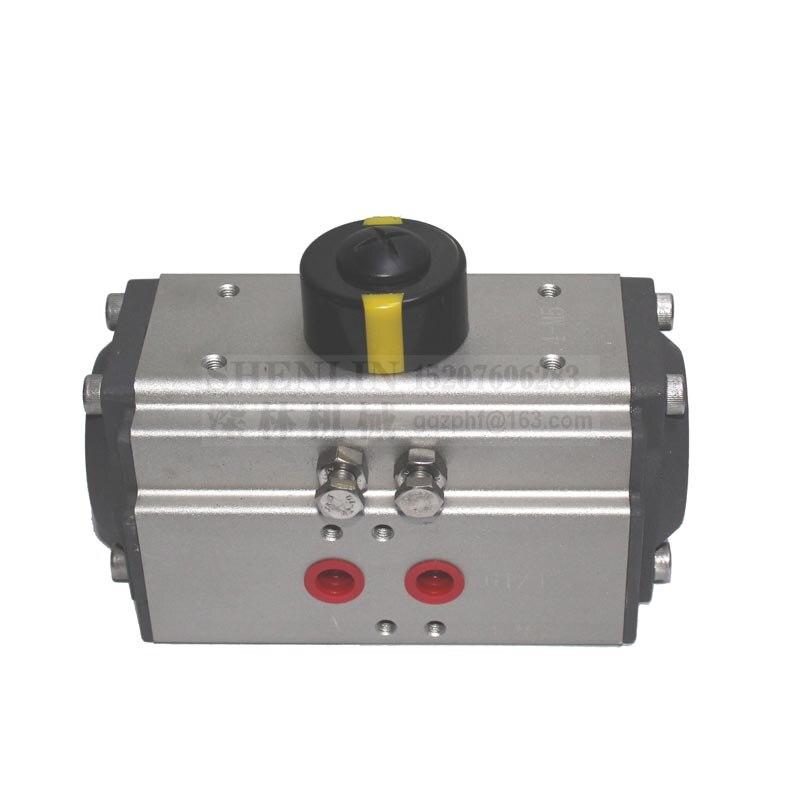 fechamento da válvula de controle com atuador pneumático