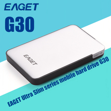 Eaget USB 3.0 G30 HDD External Hard Drive Hard disk 500GB/1TB/2TB hd externo High Speed Shockproof Encryption Desktop Free Ship
