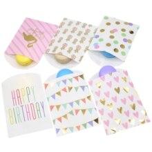 Бумажные пакеты для подарков, модная сумка для свадьбы, свадебный душ, Свадебный день рождения, юбилей, конфета, Подарочная бумажная сумка, 10 шт./партия