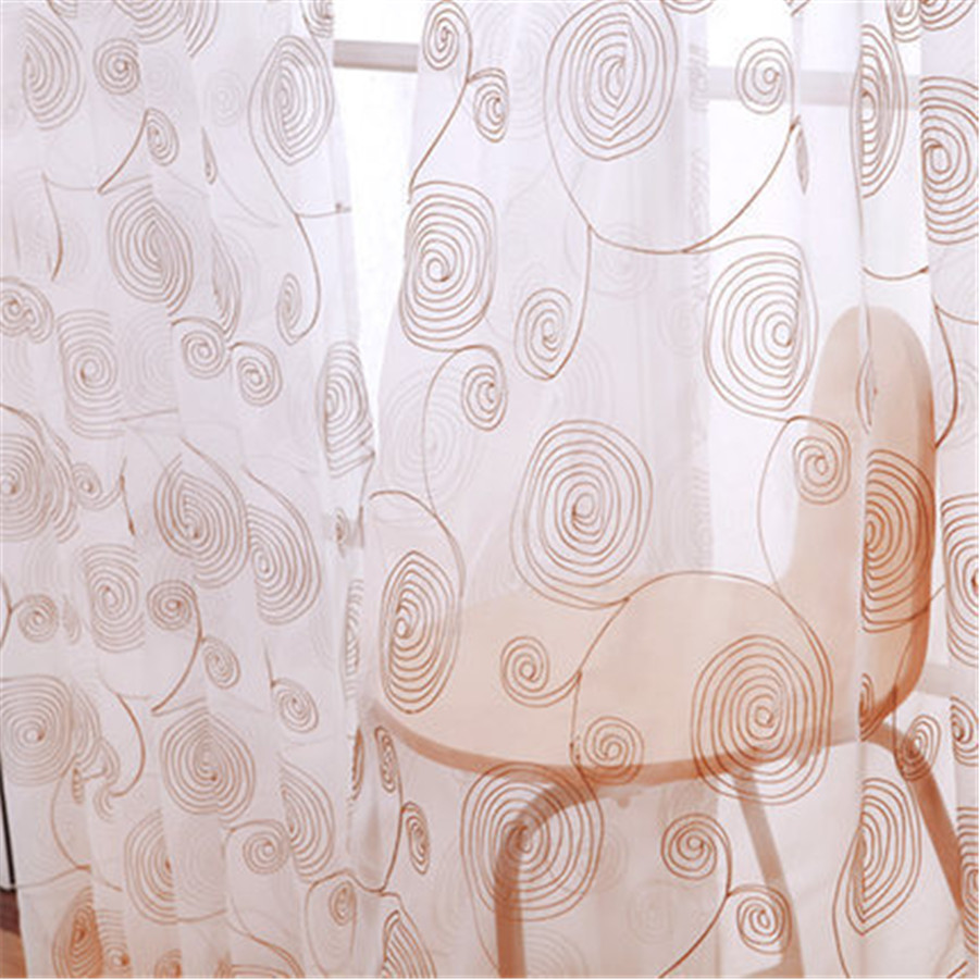 (270cm high) 2015 High quality embroidery curtain white pastoral curtains for the bedroom short curtains for living room